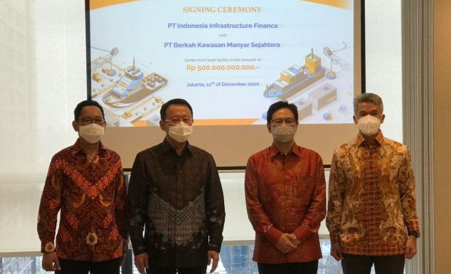 Signing of IDR 500 billion loan
